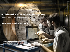 Multimedia Specials Products Training