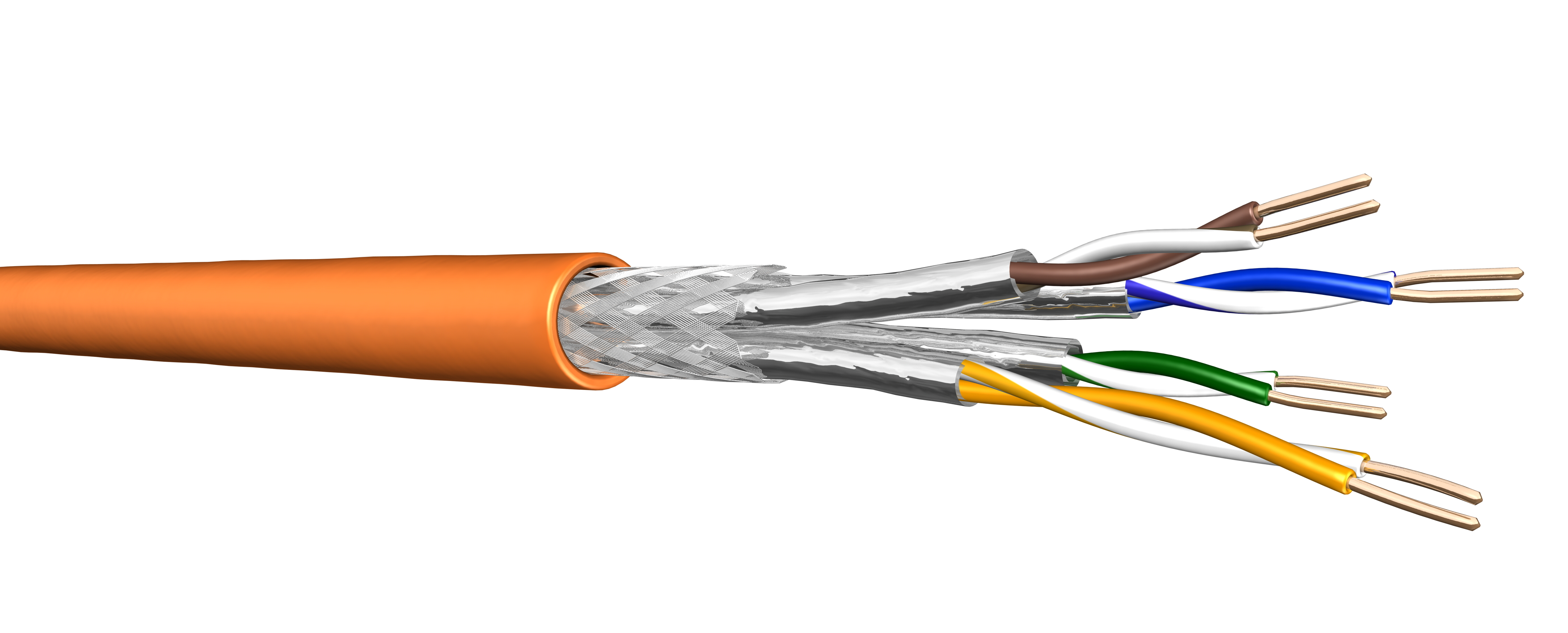Cables Draka Uc Armoured Cable Wiring Cat 7
